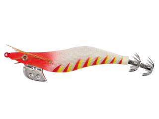 OITA RED HEAD SQUID JIG 3.5# TIGER WHITE
