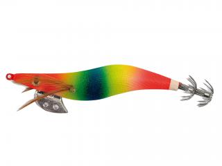 OITA RED HEAD SQUID JIG 3.5# RAINBOW