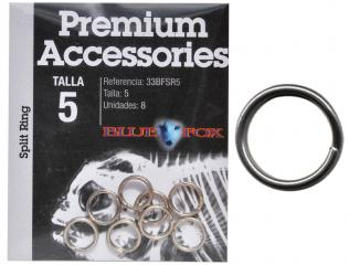 STAINLESS SAFETY KEY RING 3.5