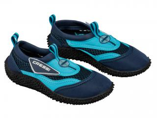 NEOPRENE CRESSI SHOES CORAL JUNIOR T-25 Blue-Sky