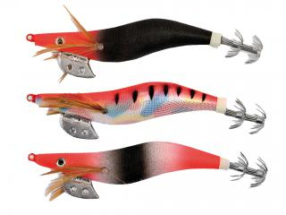 PACK2 OITA RED HEAD SQUID JIG 2.5#