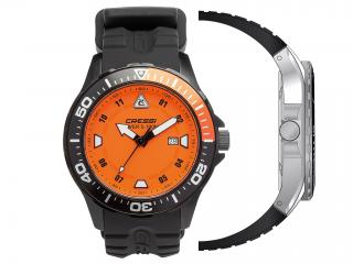 WATCH MANTA BLACK-ORANGE