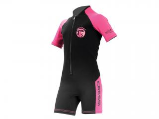 SHORTY LITTLE SHARK Talla M 2mm Rosa