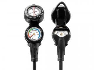 Cressi Mini Pressure Gauge with Compass