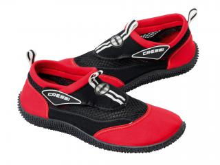 NEOPRENE SHOES REEF BLACK-RED T-36